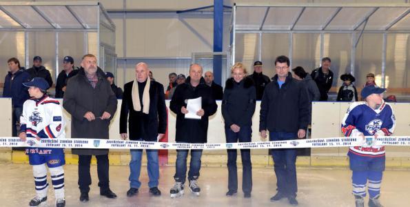 Zimní stadion je nyní chloubou Frýdlantu