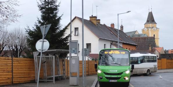 Příměstská linka autobusu je tu pro Vás!