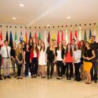 gymnazisté v Bruselu