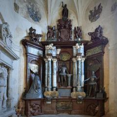 restaurovaná hrobka