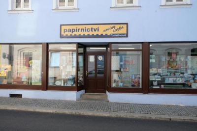 zpravodaj   papírnictví p Tomášková   ČS Armády, obrázek se otevře v novém okně