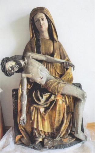 Pieta před restaurováním, obrázek se otevře v novém okně